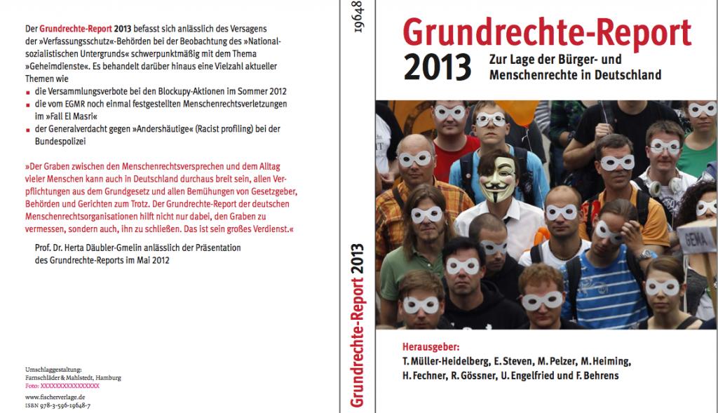 Grundrechte-Report Buch-Cover